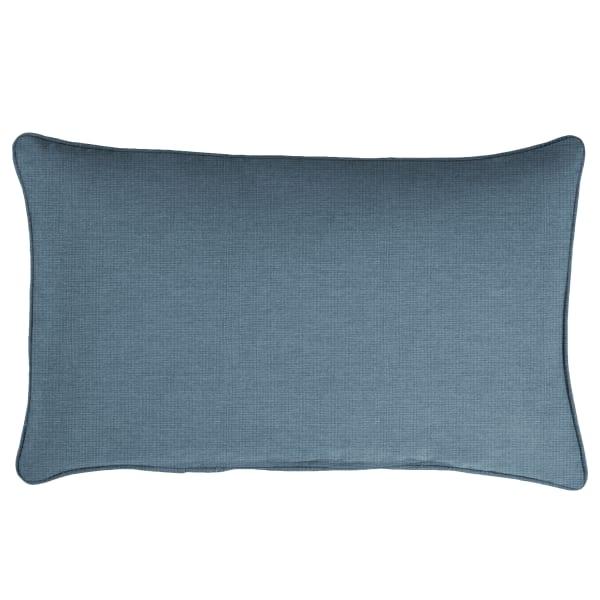 Sunbrella Spectrum Denim Set of 2 Outdoor Lumbar Pillows