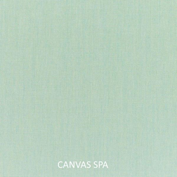 Sunbrella Cast Silver/Canvas Spa Set of 2 Outdoor Lumbar Pillows
