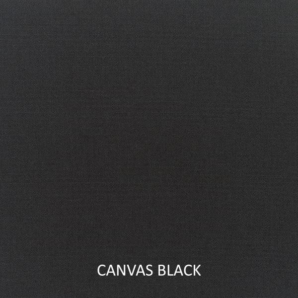 Sunbrella Peyton Granite/Canvas Black Set of 2 Outdoor Lumbar Pillows