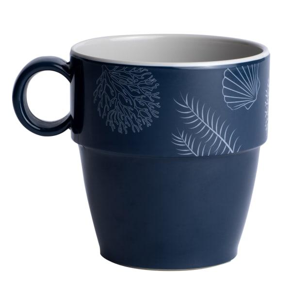 Living Set of 6 Melamine Mugs