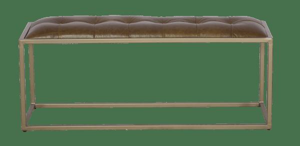 Chadwick Genuine Leather Bench