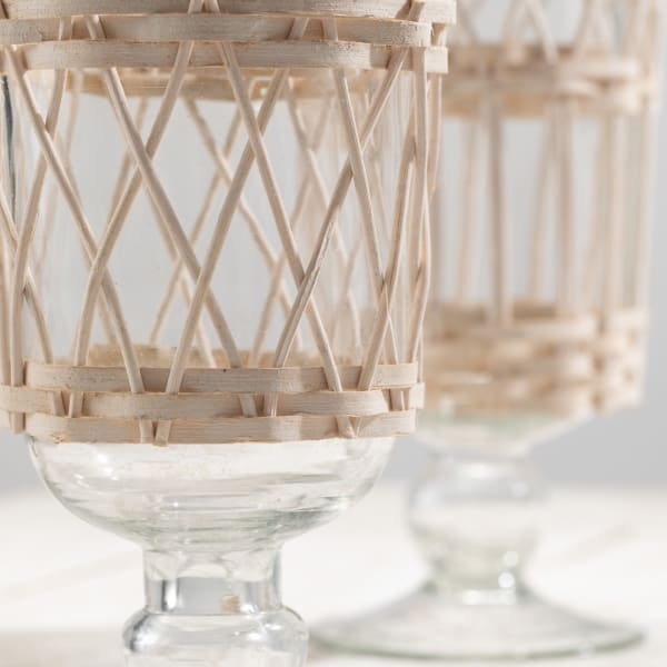 Woven Set of 2 Vases