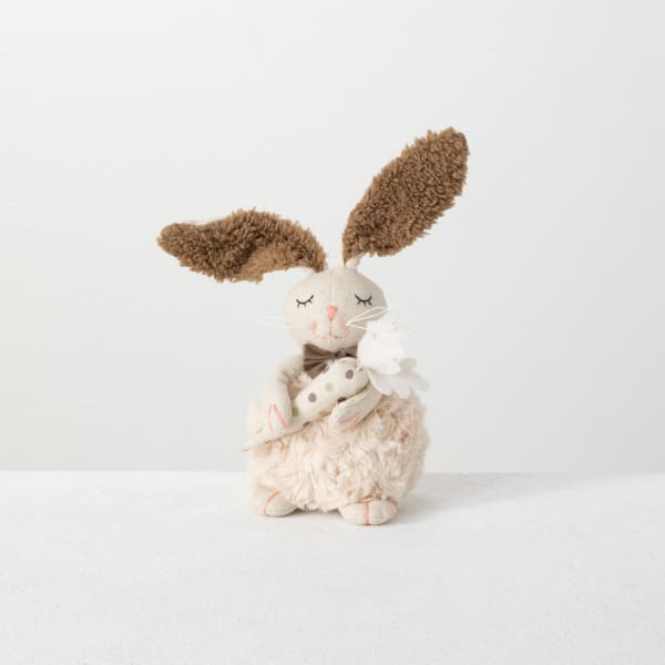 Sitting Rabbit With Carrot