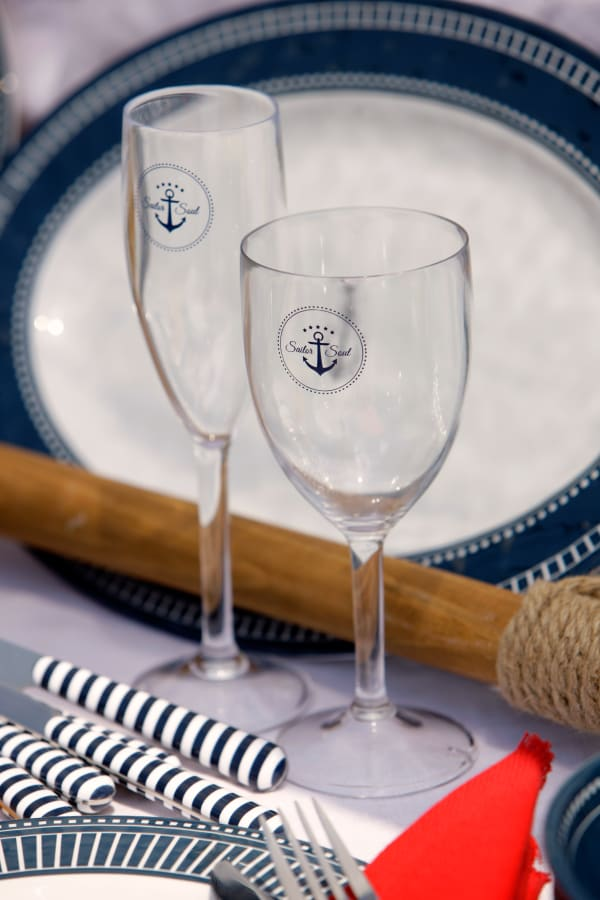 Sailor Soul Set of 6 Champagne Glasses
