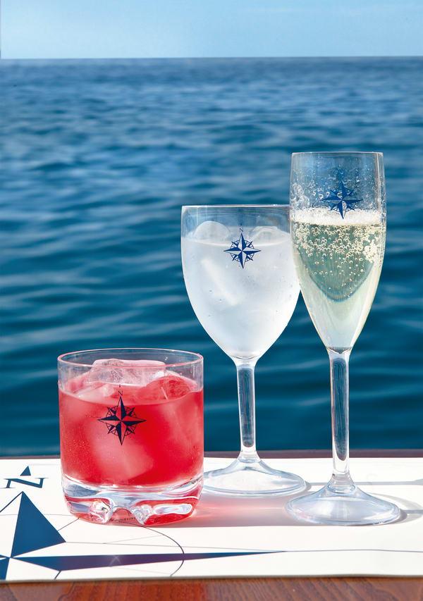 Northwind Set of 6 Wine Glasses