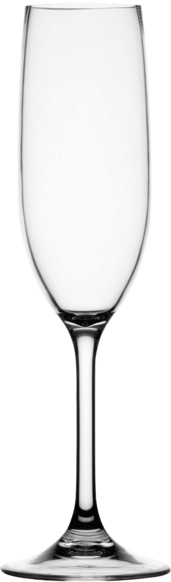 Clear Non-Slip Set of 6 Champagne Glasses