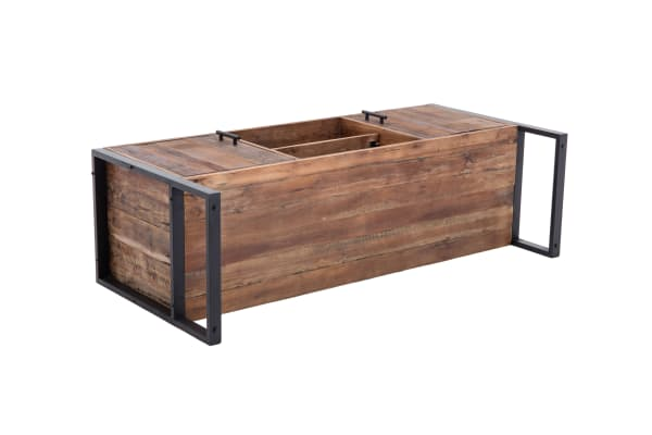 Ruffalo Reclaimed Wood and Metal 60