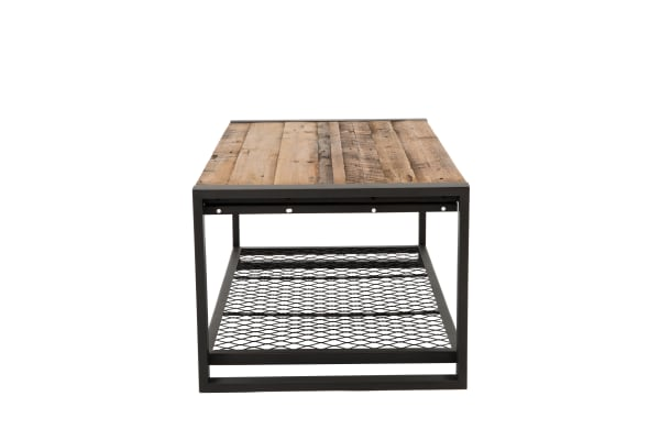 Soho Reclaimed Wood and Metal Coffee Table