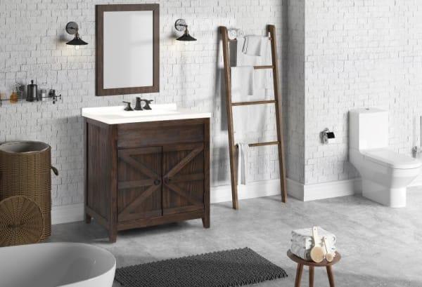 Brodnax Dark Brown Bathroom Vanity Pier 1