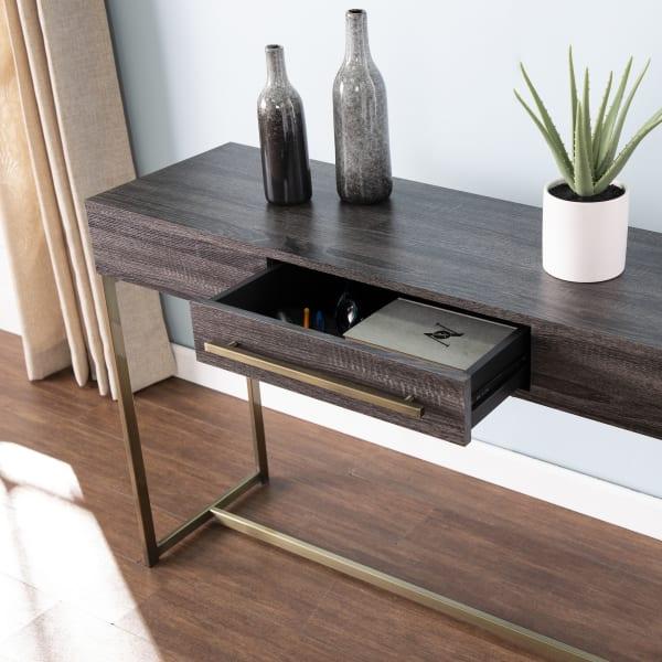 Brampton Storage Console Table