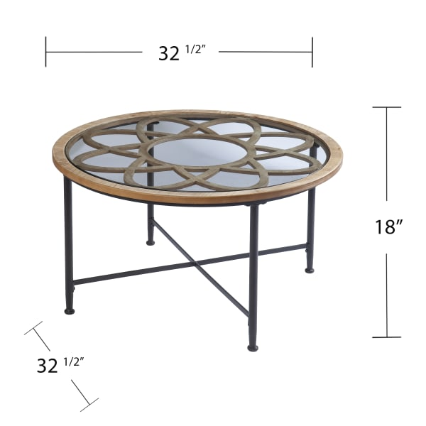 Marta Cocktail Table