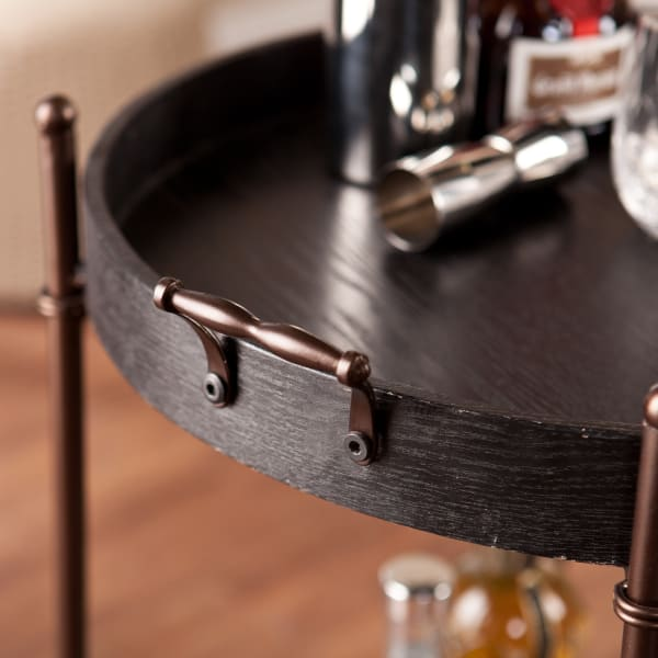 Henry 2 Tier Round Butler Table