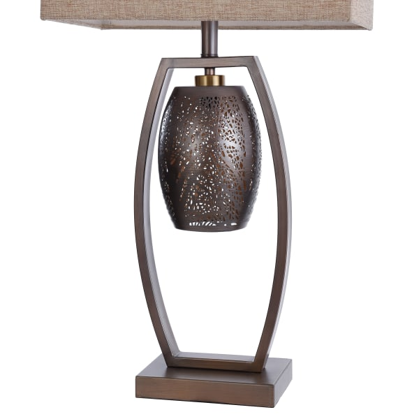 Contemporary Steel Table Lamp