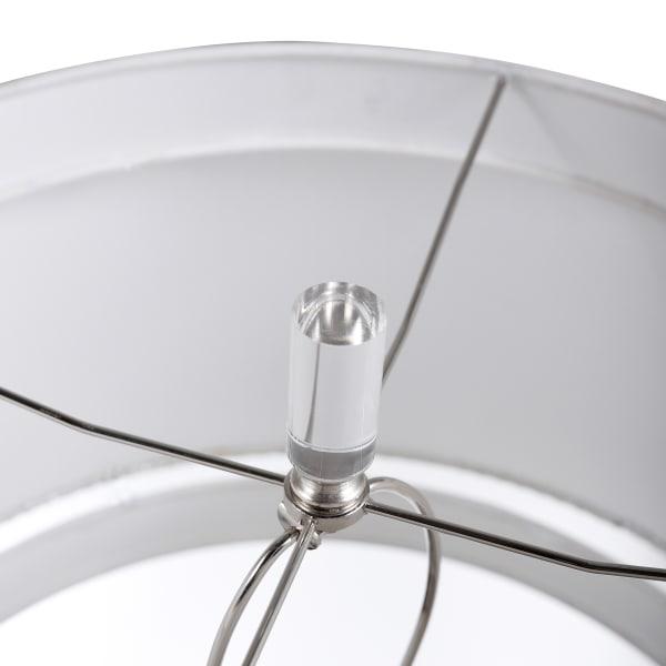 Elegant Glass Column Table Lamp