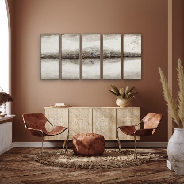 Abstract Neutral CXLIII  Canvas Wall Art