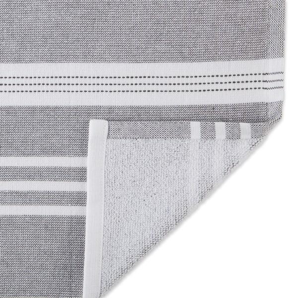 Mineral French Terry Nautical Stripe 3 Piece Dishtowel