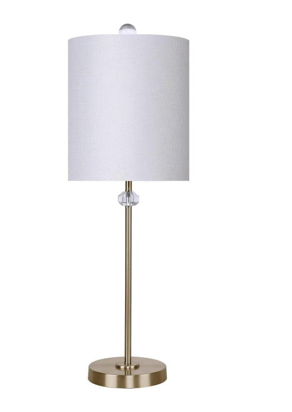 Antique Soft Brass Table Lamp