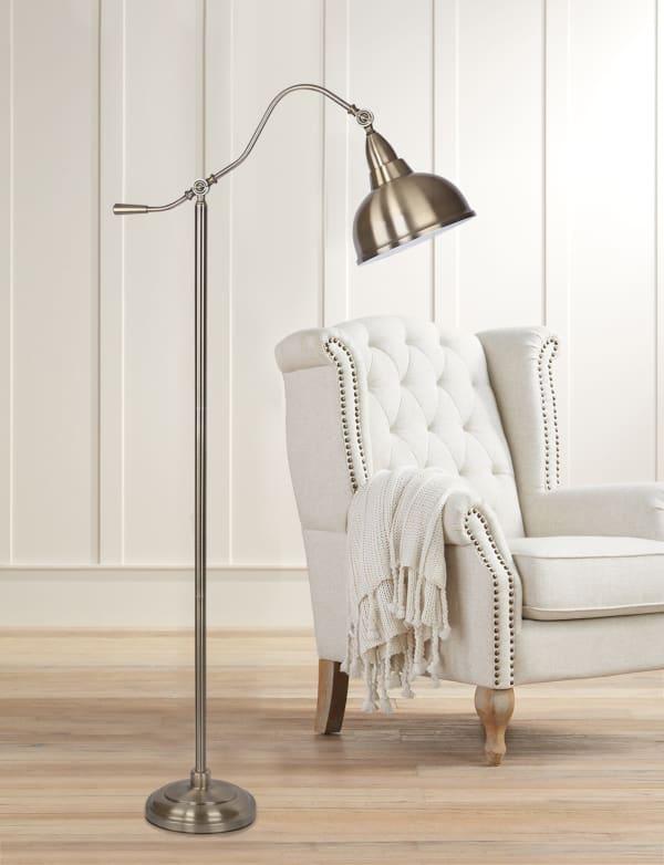 Arched Metal Floor Lamp