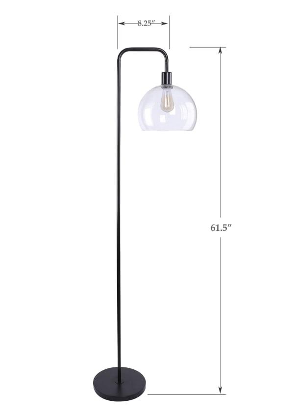 Oil Bronze Floor Lamp
