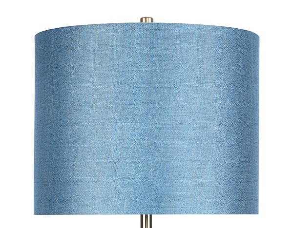 Gold Plated with Slim-Line Design Floor Lamp