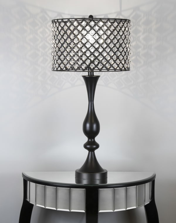 Oiled Rubbed Bronze Table Lamp