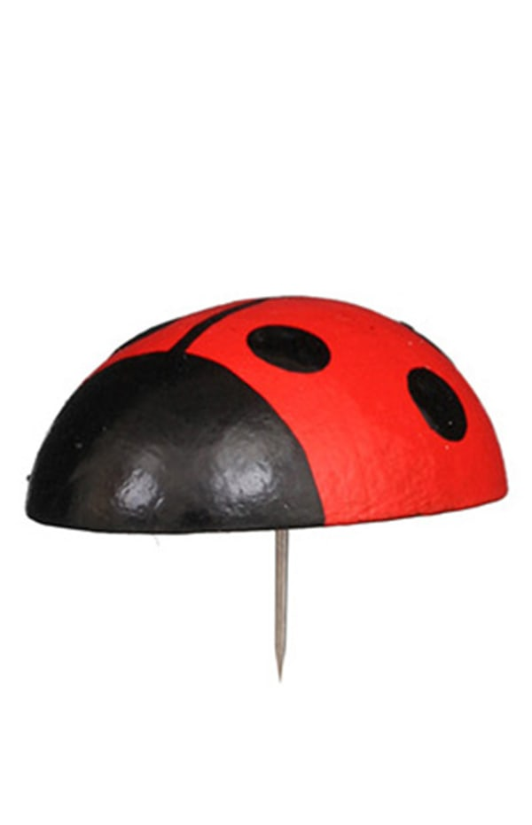 Christian Ulbricht Medium Ladybug Pin Ornament