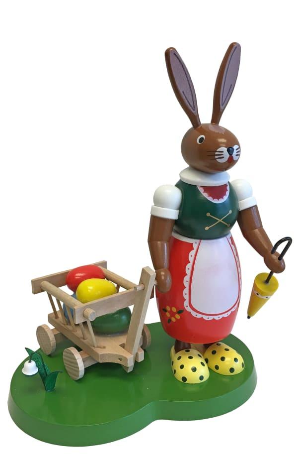 Richard Glaesser Girl With Cart Easter Figure