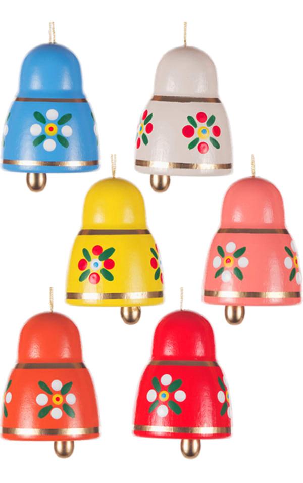 Dregeno Bells Set of 6 Easter Ornament
