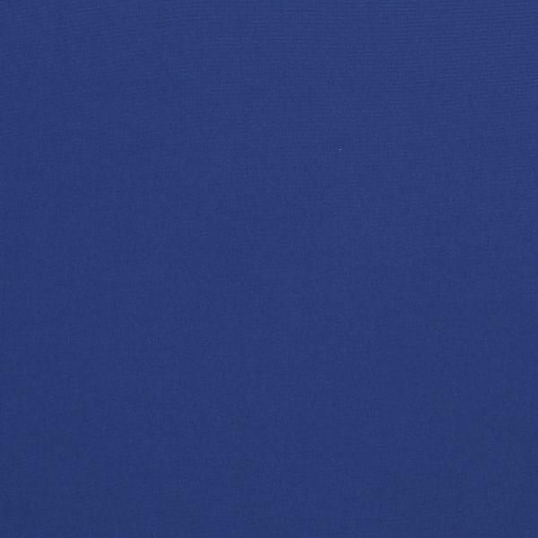 Corded Set of 2 Dark Blue/Ivory Lumbar Pillows