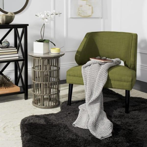 Haven Knit  Light Grey Throw