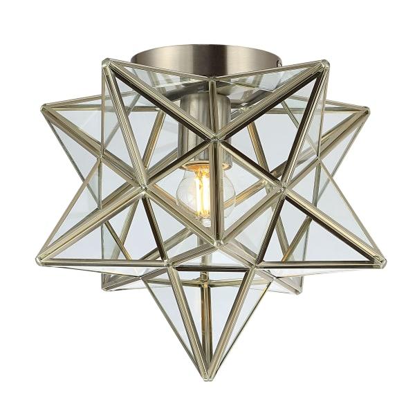 Stella Oil Bronze Pendant