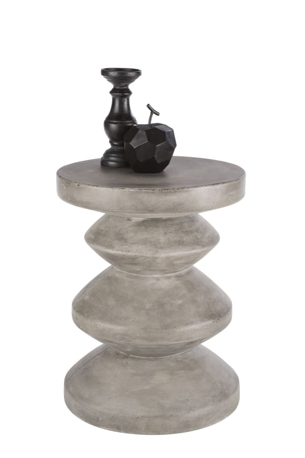 Athen Grey Anthracite End Table
