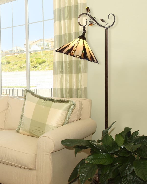 Ripley Tiffany Downbridge Floor Lamp
