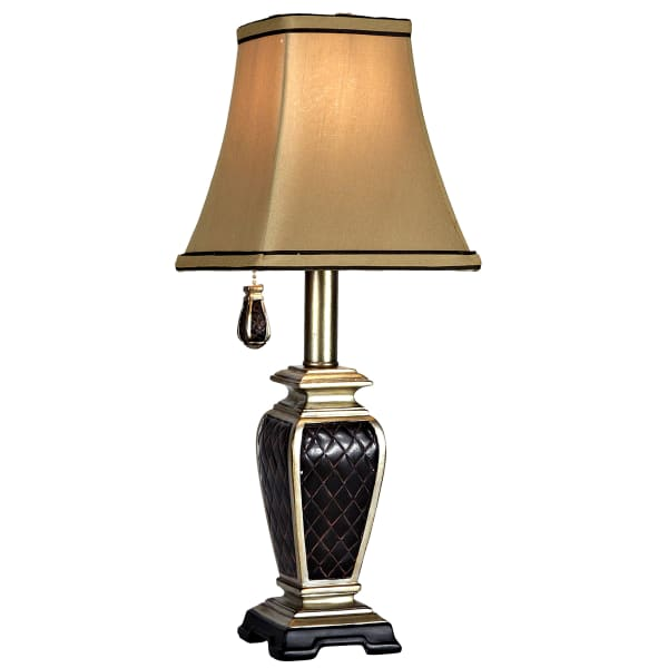 Brompton Accent Black And Gold Finish Table Lamp