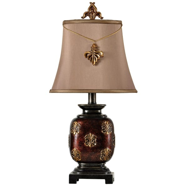 Maximus Mini Accent Bronze Finish Table Lamp
