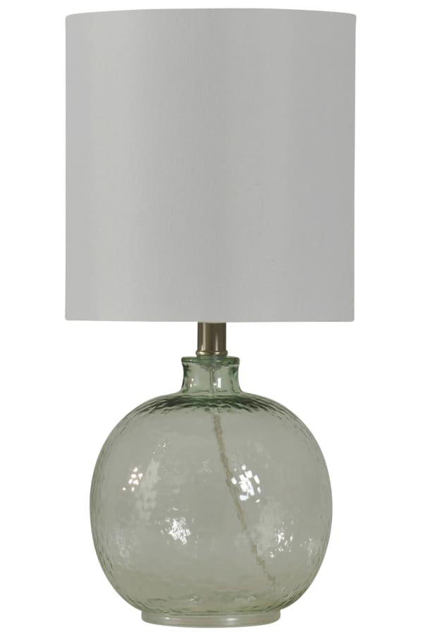 Clear Finish Table Lamp
