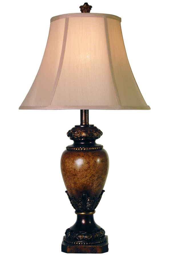 Brown Finish Table Lamp