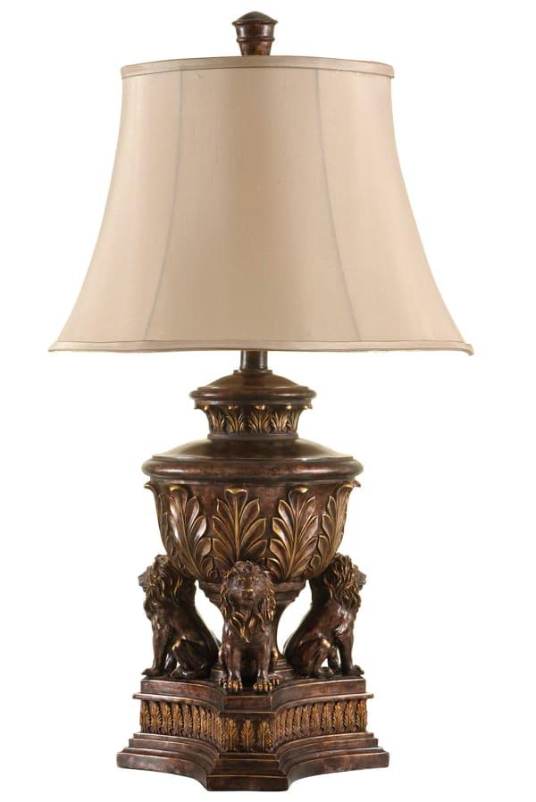 Majestic Gold Finish Table Lamp
