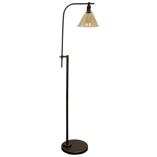 Madison Bronze Finish Floor Lamp