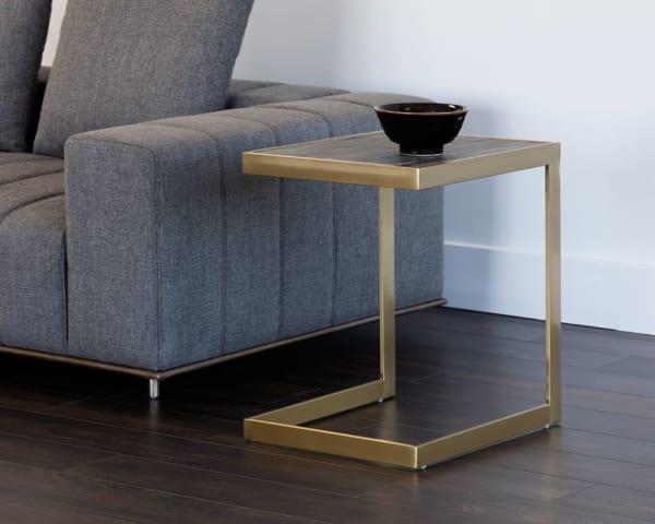 Sedona Gold Side Table