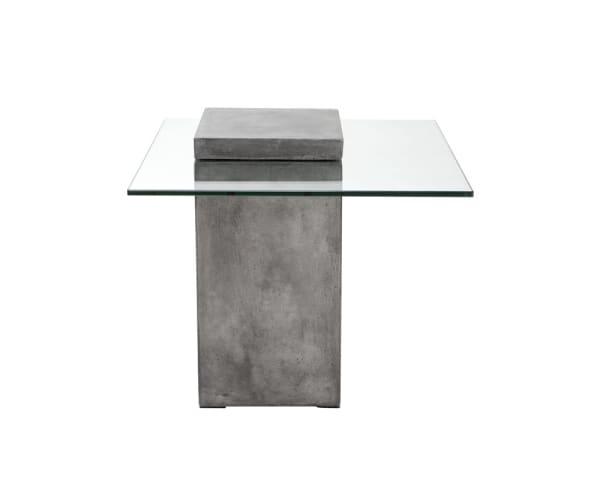 Grange Grey Square End Table