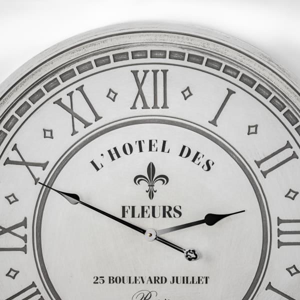 L'Hotel Des Fleurs 25 Blvd Juillet Paris Oversized Wall Clock