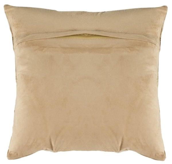 Maggie Cowhide Beige Pillow