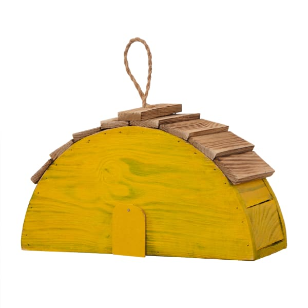 Wood  Lemon Garden Birdhouse