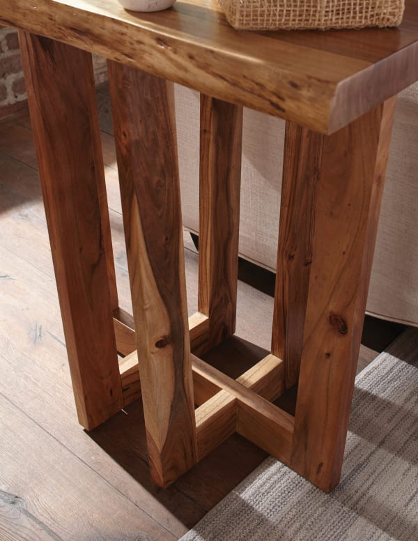 Berkshire Natural Live Edge Wood End Table Pier 1