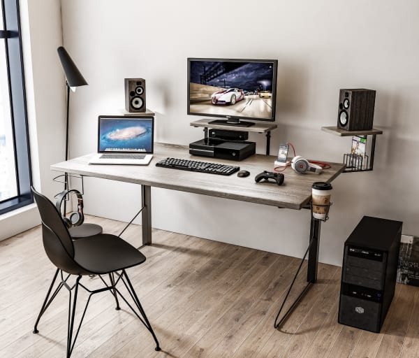 Cameron Power Gaming Desk