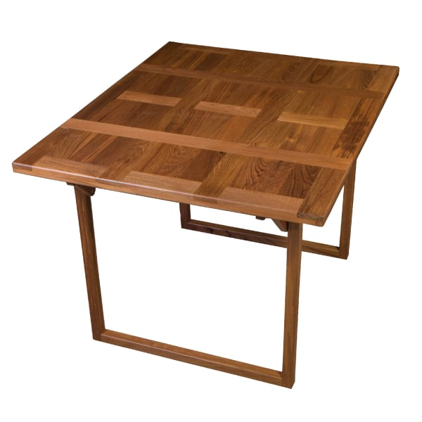 Teak Puzzle Table