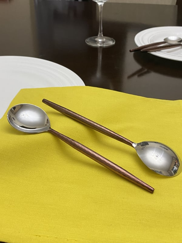 Stainless Steel Set of 6 Tablespoons
