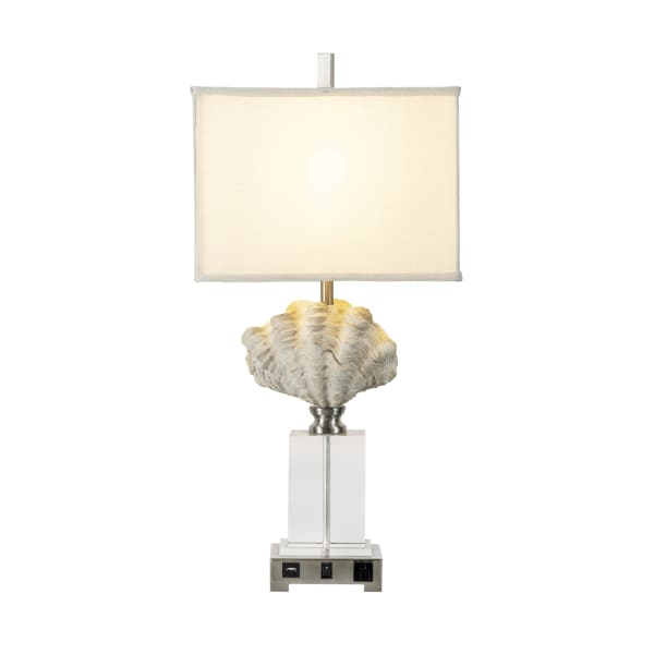 Sea Shell Crystal Table Lamp