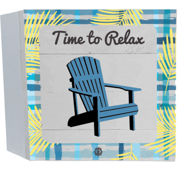 TIME TO RELAX Wall Accent